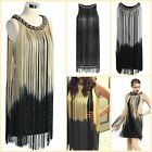 1920s Flapper Dress Great Gatsby Vintage Prom Party Cocktail Small Medium Large