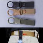 Military Tactical Molle Hanging Strap Webbing Buckle Clip Key Bottle Hook Belt