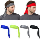 US Outdoor Men Headband Sports Running Basketball Head Tie Tennis Sweatband Wrap