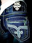 Brand New NWT New Mens Rock Revival Straight Jeans Raynon...