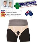 HERNIA BELT DOUBLE SIDED VULKAN REMOVABLE FLEXIBLE COMPRESSION CUSHIONS