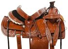 15 16 WESTERN RANCH ROPING ROPER COWBOY HORSE LEATHER SADDLE TACK TRAIL