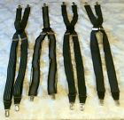 Men Suspenders Clothing Accessory Black With Designs Dressy All Seasons