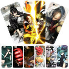 Blood Anime ONE PUNCH-MAN Saitama Hard Phone Case Cover For iPhone X 6s/7/8 Plus