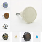 Circular Round Shaped Cupboard Knobs Handles Pulls For Furniture UK Knob Pull Ha