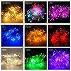 16Feet 9 Colors 50 LED Fairy String Light 3xAA Battery Power Holiday Garden Lamp