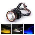 Head Torch LED Rechargeable Headlamp waterproof Super Bright Head Light Lamp new