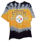 Pittsburgh Steelers Men's XL 2XL Tie Dye Retro T-Shirt NFL Flaw - NFC North A14