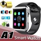 A1 Clever Watch Digital Analog Sports Watch For Iphone Samsung & Android Devices