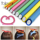 10Pcs/Set Hair Curler Magic Air Hair Roller Curling Sticks Foam Twist Flexi Rods