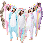 Pigiama kigurumi costume unicorn carnevale adulti cosplay animali tuta-party New