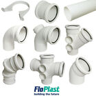 """FLOPLAST"" 110mm White Soil Pipe and Fittings"