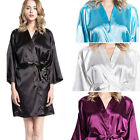 Women robe Silk Robes Bridal Wedding Bridesmaid Bride Gown kimono robe NEW