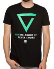 Witcher 3 Axii Me About My Silver Sword Premium Adult T-Shirt - Action Role-pla