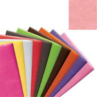 15 FREE! SHEETS LUXURY COLOURED TISSUE PAPER ACID FREE LRG 75cm x 50cm WRAPPING