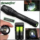 Zoomable 12000LM 5-Mode XMLT6 LED Flashlight Lamp Light 18650+Charger A3<