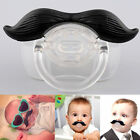 US Funny Teeth Mustache Baby Kids Infant Pacifier Orthodontic Dummy Nipples