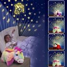 ANIMAL CUDDLE PET PILLOW CUSHION DREAM NIGHT LIGHT BED LITES CHILDRENS TOY GIFT