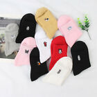 1 Pair Fashion Women Embroidery Dog Soft Short Cotton Socks Low Cut Ankle Socks