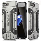 [Military Grade] Armor Kickstand Card Slot Case Cover For Apple iPhone X/8/7Plus