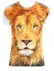 T-Shirt Tiere Lustige Motive Party Fun Herren Damen Löwe, Clown Gr.  XS S M L