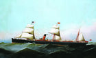 """ANTONIO JACOBSEN """"SS Gallia"""" STEAMSHIP see our shop! various SIZES available"""