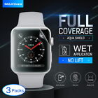 MaxShield HD Screen Protector for Apple Watch Series 1/2/3 38mm 42mm iWatch