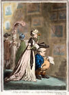 """JAMES GILLRAY """"A Peep At Christies"""" Art CANVAS, PAPER various SIZES, BRAND NEW"""