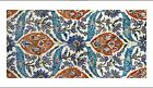 "DECORATIVE CANVAS/PAPER ""Iznik Design I"" NEW choose SIZE, from 55cm upwards, NEW"