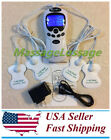 TENS Unit Muscle Stimulator Therapy Pain Relief Electronic Pulse Massager Kit