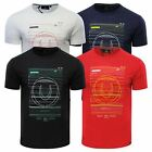 Mens T Shirt Duck & Cover Gamma Crew Neck Short Sleeve Graphic Tee