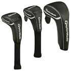 TaylorMade Golf Universal Synthetic Leather Head Covers - Driver Fairway Hybrid