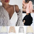 womens long winter coats - US Luxury Women Warm Winter Casual Faux Fur Parka Coat Overcoat Long Jacket