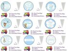 24 x DIY Personalised Sweet Cone Baby Shower Party Loot Bags Do It Yourself