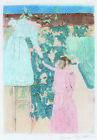 "MARY CASSATT ""Gathering Fruit"" CANVAS OR PAPER choose SIZE, from 55cm up, NEW"