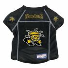 NEW WICHITA STATE SHOCKERS DOG PET PREMIUM JERSEY w/NAME TAG LE