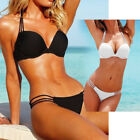 Clearance Wholesale UK Womens Padded Push-up Bra Bikini Set Swimsuit Swimwear