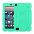 For Amazon Kindle Fire 7 / 8 7th Gen 2017 Tablet Case Shockproof Silicone Cover