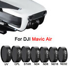 DJI Mavic Air Filter ND4 ND8 ND16 Star CPL UV
