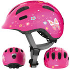 ABUS Smiley 2.0 Fahrradhelm, Kinderhelm, pink butterfly
