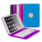 Rechargeable Wireless Bluetooth Keyboard Case Cover with Stand For iPad Mini 4
