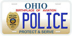 Ohio Police Any Text Personalized Novelty Car License Plate