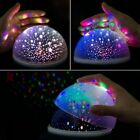 Ceiling Projector Night Light Romantic Rotating Spin Star Moon Sky Cosmos Lamp