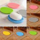 Silicone Washing Hollow Drain Cleaning Laundry Soap Dish Holder Storage RR6