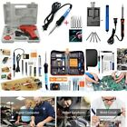 60-100W Adjustable Electric Temperature Gun Welding Soldering Iron Tool Kit 110V