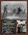 Philadelphia Eagles 1949 NFL Champions Photo Plaque