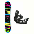 2B1 Showtime Blue Stealth 3 Snowboard and Binding Package 2018