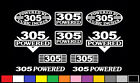 10 DECAL SET 305 CI V8 POWERED ENGINE STICKERS EMBLEMS SBC VINYL BADGE DECALS