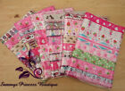 "8M MIXED BUNDLE GIRL THEMED 1"" & 7/8"" GROSGRAIN RIBBON CRAFT HAIR BOWS CAKES"