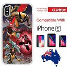 iPhone Silicone Cover Case X Men Wolverine Storm Cyclops Night Coverlads